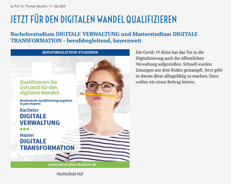 Blogbeitrag Qualifikation